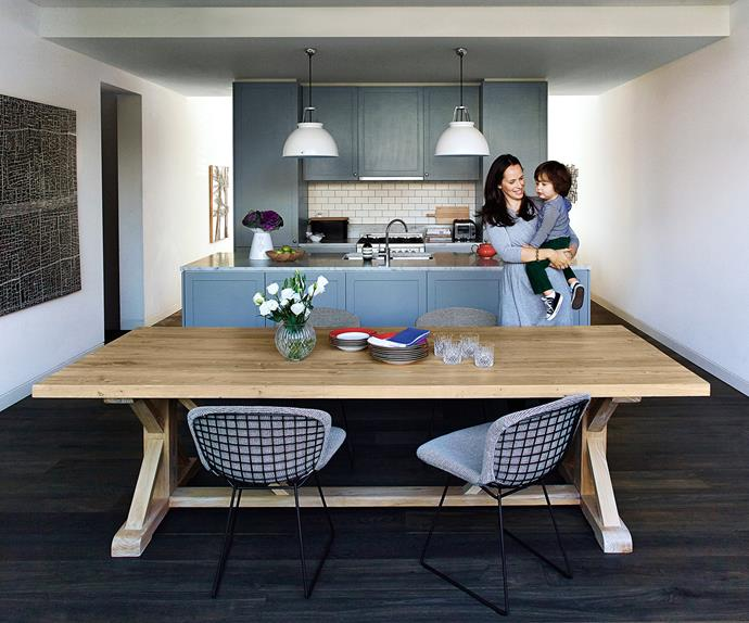 family-friendly kitchen