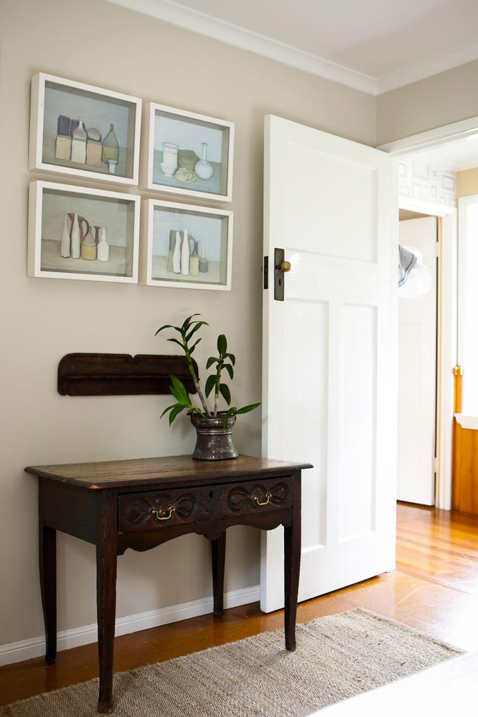 """I was really keen to change the paint colours – I like the look of stony colours with the freshness of [white](http://www.homestolove.com.au/how-to-pick-the-right-white-paint-for-your-home-3741