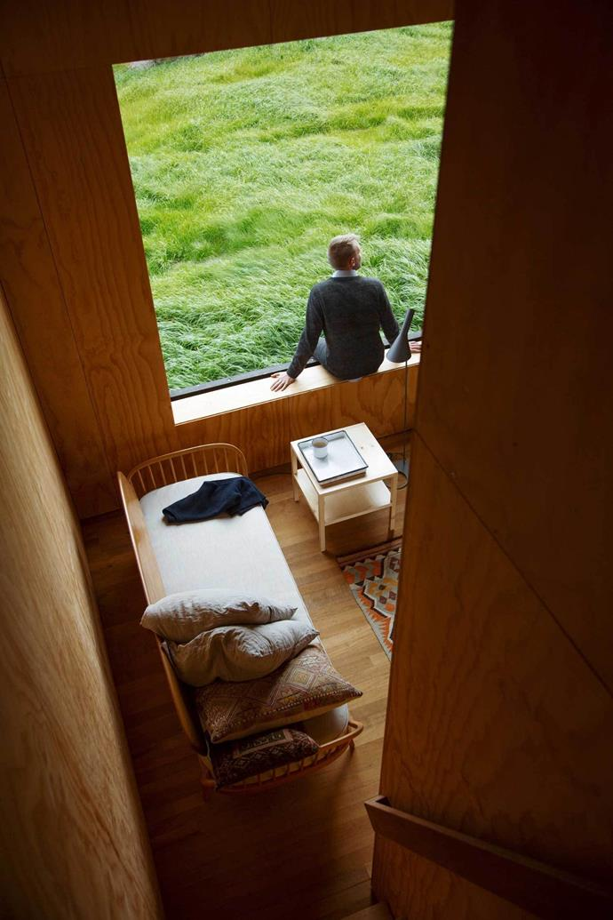 """Holiday homes have become this country's decadence,"" designer Nat Cheshire told [Dezeen]( http://www.dezeen.com/2015/09/04/blackened-timber-cabins-cheshire-architects-overlook-tasman-sea-new-zealand/