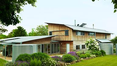 A purpose-built sustainable farmhouse