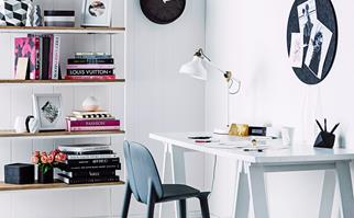 Office trestle table