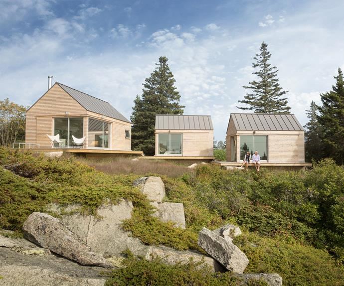 architecturally designed cabins