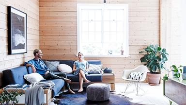 Perfect the Scandi style with timber panelling