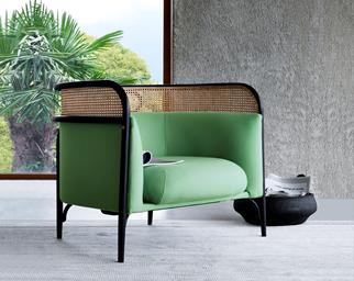 green lounge chair