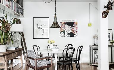 Inside the 1930s Sydney apartment of H&G interiors editor Kate Nixon