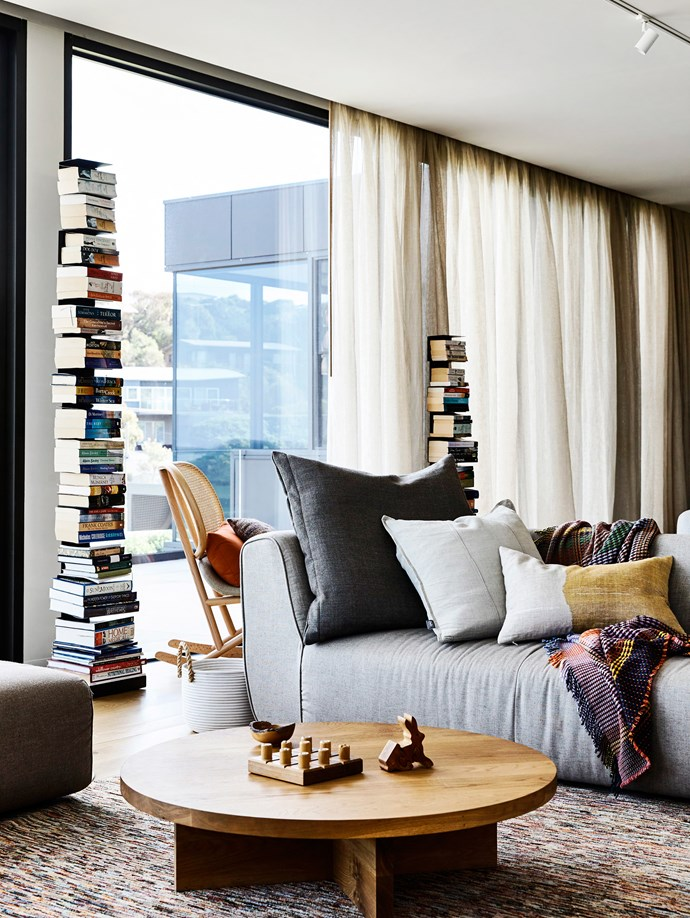 """The owners were very clear about what they wanted,"" says Fiona. ""An earthy feel, [lots of layers](http://www.homestolove.com.au/mindful-home-decorating-2296
