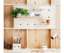 Renter-friendly DIY: wall shelves without nails