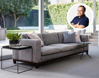 matching sofa and carpet