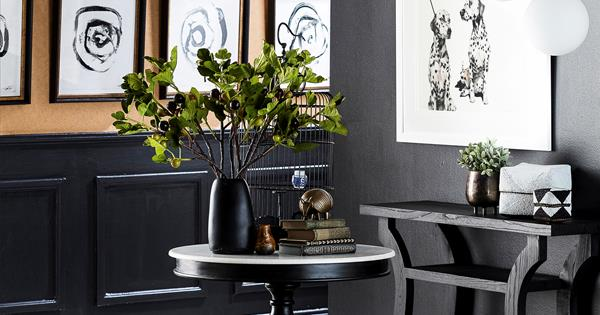 Shop The Look Black And White Decorating Australian
