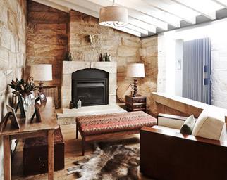 warm cosy living room