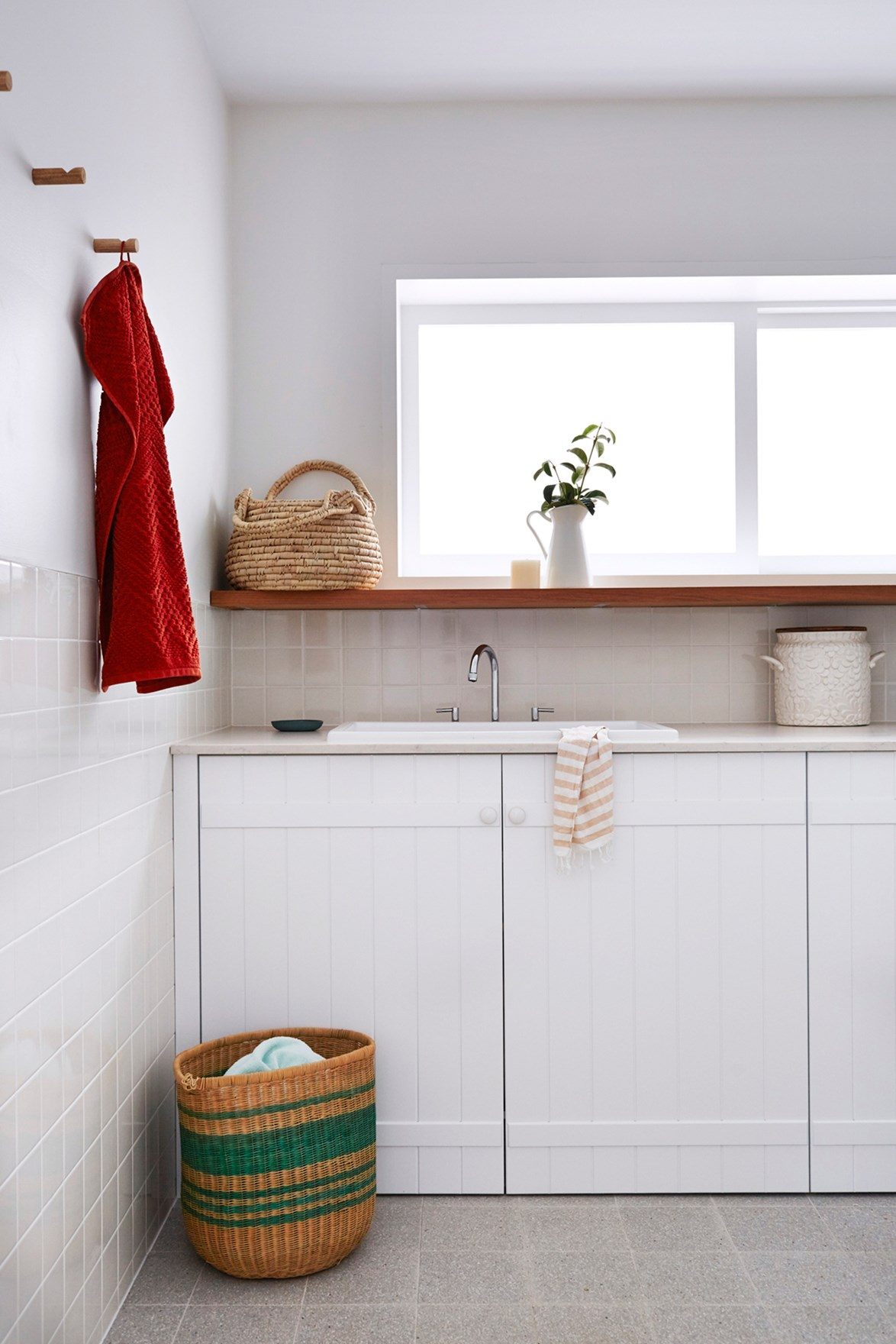 A clean and organised laundry will make washing less of a chore, we promise!