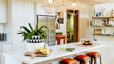 A neutral home that is anything but boring