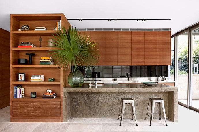 "[Sarah Davison Interior Design](http://www.sarahdavison.com.au/ target=""_blank"") kitchen. From *Belle* April 2014. * Photograph by Will Horner.*"
