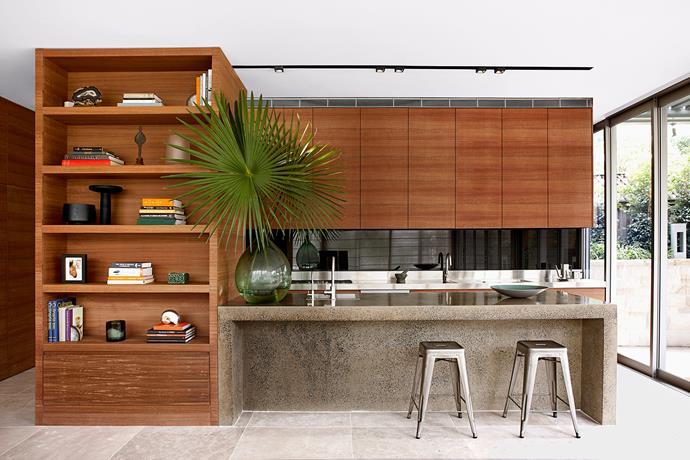 "[Sarah Davison Interior Design](http://www.sarahdavison.com.au/|target=""_blank"") kitchen. From *Belle* April 2014. * Photograph by Will Horner.*"