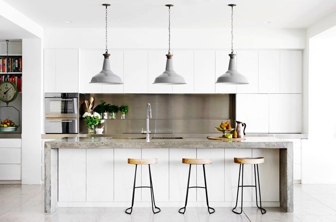 "[Justine Hugh-Jones Design](http://justinehughjones.com/ target=""_blank"") kitchen. From *Belle* October 2015. *Photograph by Nicholas Watt.*"