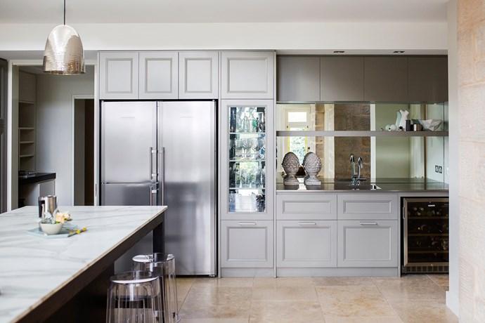 "[Williams Burton](http://designbywbl.com.au/ target=""_blank"") kitchen. From *Belle* October 2014. * Photograph by Christopher Morrison.*"
