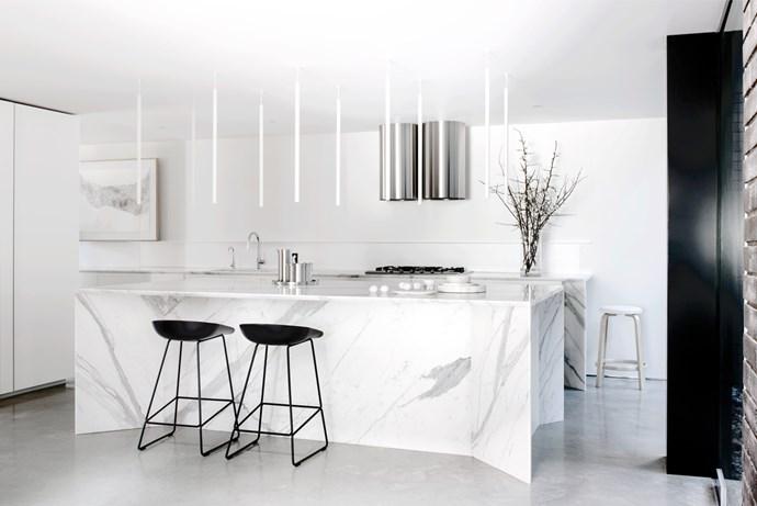 "[Smart Design Studio](http://smartdesignstudio.com/ target=""_blank"") kitchen. From *Belle* October 2015. * Photograph by Nicholas Watt.*"