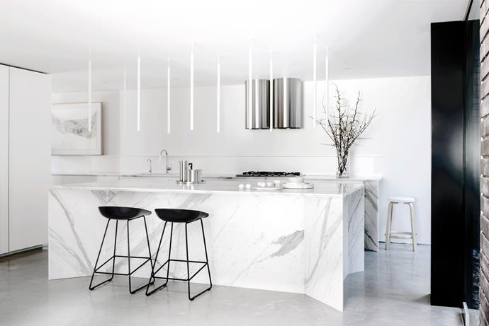 "[Smart Design Studio](http://smartdesignstudio.com/|target=""_blank"") kitchen. From *Belle* October 2015. * Photograph by Nicholas Watt.*"