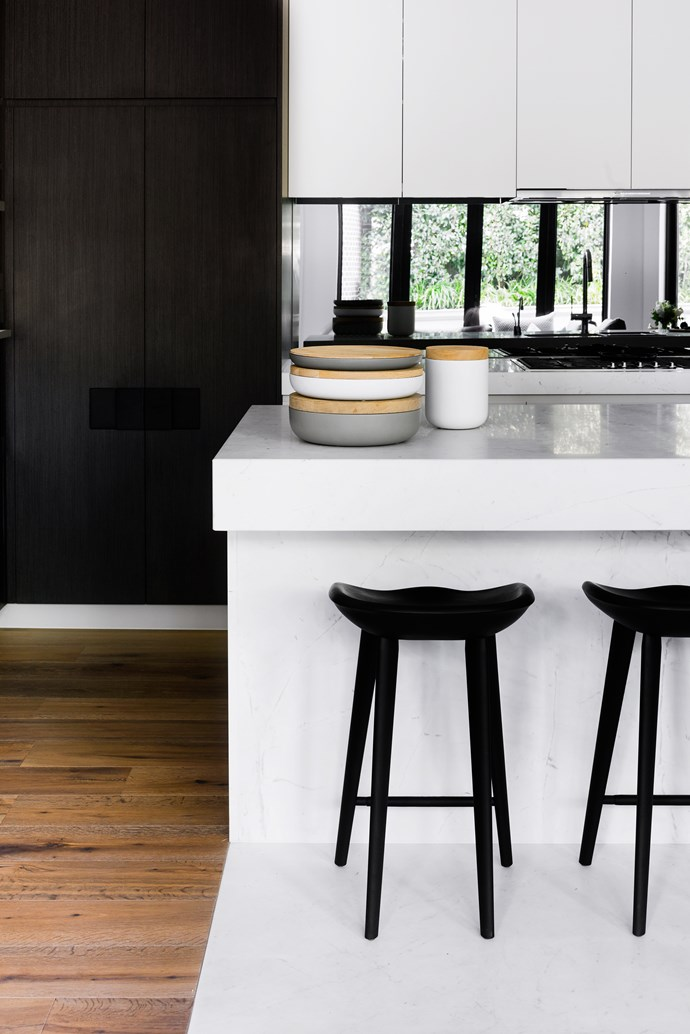 "BassamFellows 'Tractor' stools from [Living Edge](https://livingedge.com.au/|target=""_blank"")."