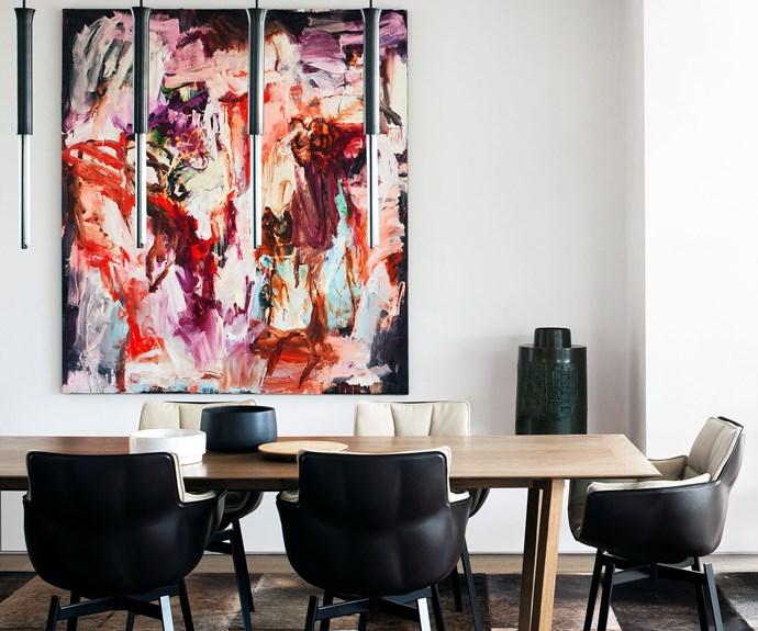 luxury formal dining room
