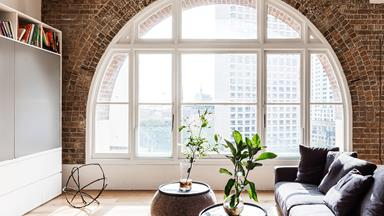 Luxe apartment tour: tea merchant warehouse conversion