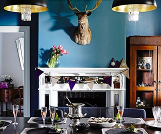 dining room colour scheme