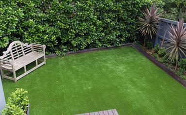 A low-maintenance garden idea