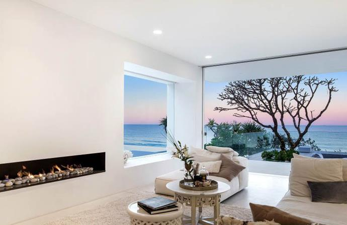 The interiors are described as Mediterranean minimalism. Photo: Tom Offermann Real Estate