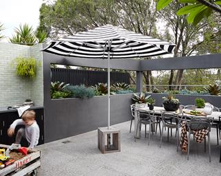 Courtyard design idea