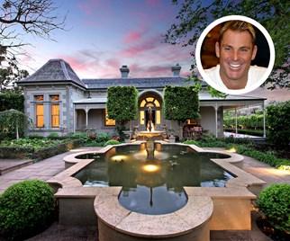 Shane Warne Melbourne mansion