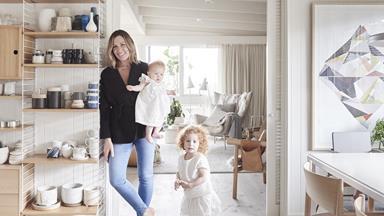 Stylist Simone Haag's seamless Scandi-style home