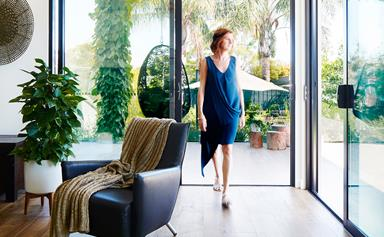 Living large in a sustainable home