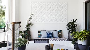 Texture thrives in this urban oasis