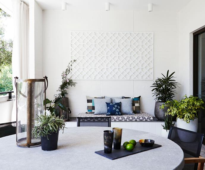 Courtyard garden by Adam Robinson Design