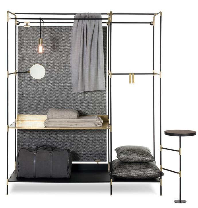 "The first thing to consider is what you need to house and when it will be used. Ivano Redaelli Pret-a-Porter steel and brass freestanding wardrobe, from $19,990, [Hub Furniture](http://www.hubfurniture.com.au/|target=""_blank""