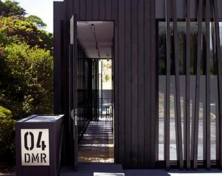 contemporary home entry