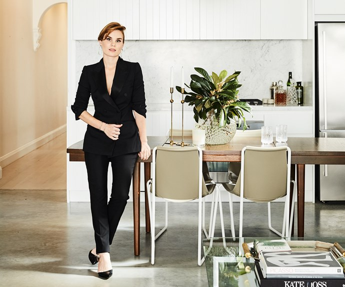 Fashion stylist Tanya Levak