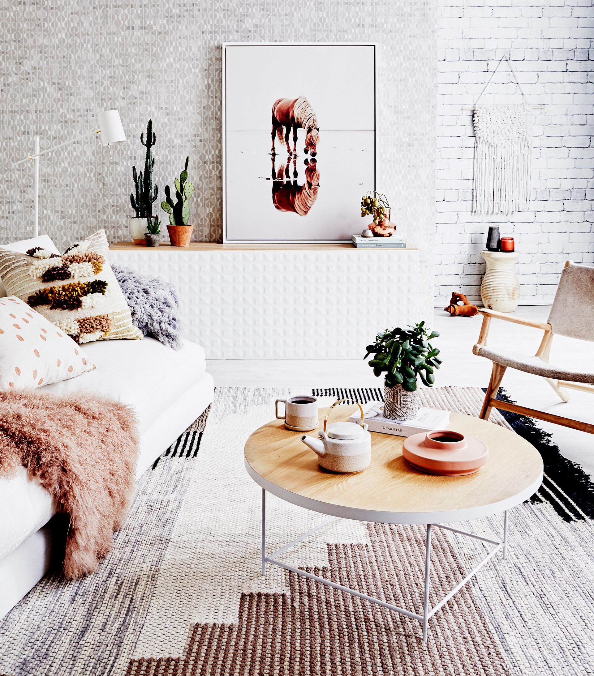 "New season. New look. [Shop this laidback living room](http://www.homestolove.com.au/shop-the-look-relaxed-living-room-4065|target=""_blank"") from the latest issue of *real living*."