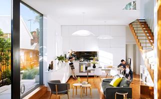 Light-filled renovation transforms a Sandstone Cottage in Sydney's Inner West.
