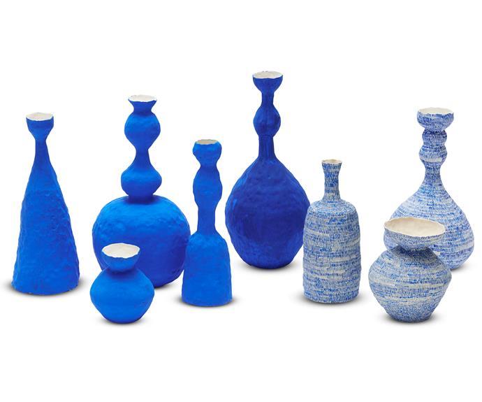 "'Uneasy' hand-built porcelain paper clay vessels, enquiries to [Alexandra Standen](http://www.alexandrastanden.com/about/ target=""_blank"" rel=""nofollow"")."
