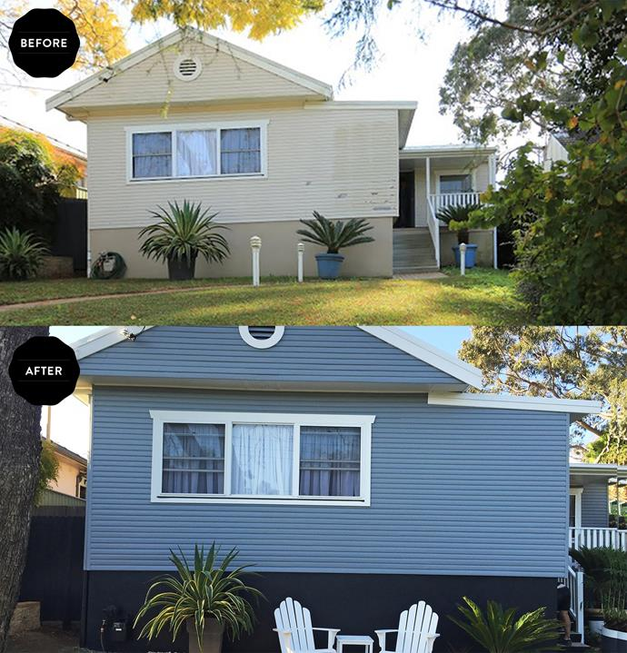 Painting the facade of your property will keep it in good condition and increase its value.