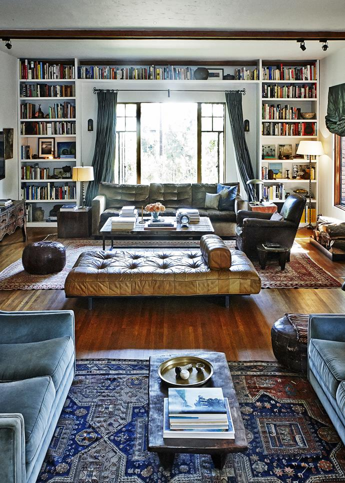 """""""Our home is a reflection of who we are,"""" Walton comments. """"It tells the story of us. The books we read, the places we've been and the people we've met along the way."""""""