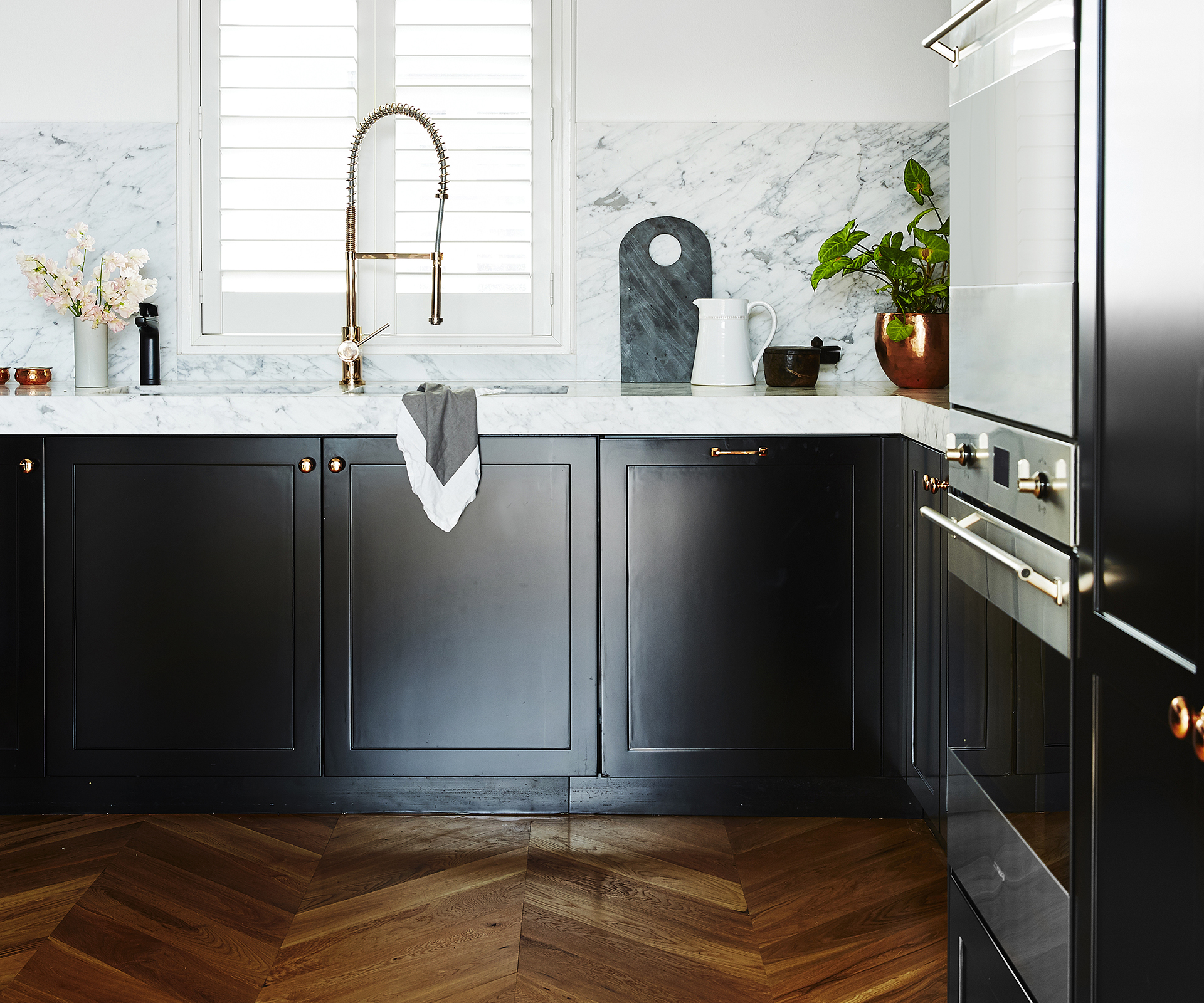 Timeless Transformation Of A 70s Style Kitchen
