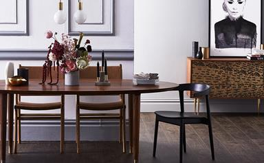 How to style a luxe dining room