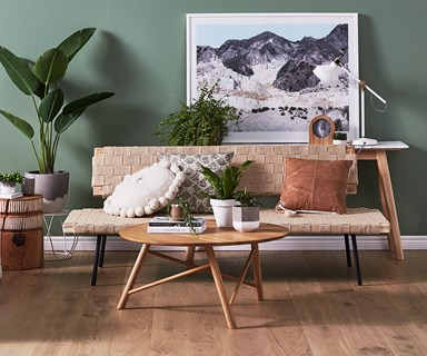 How to style a cool, casual living room