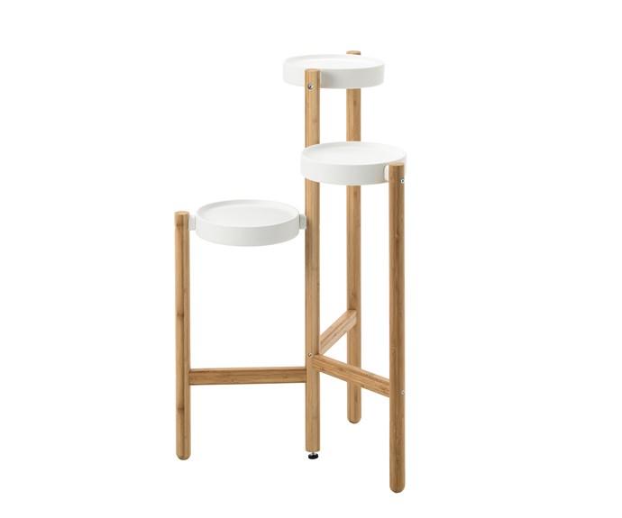 "Satsumas bamboo *plant stand*, $49.99, [Ikea](https://www.ikea.com/au/en/catalog/products/60294962/|target=""_blank""|rel=""nofollow"")."