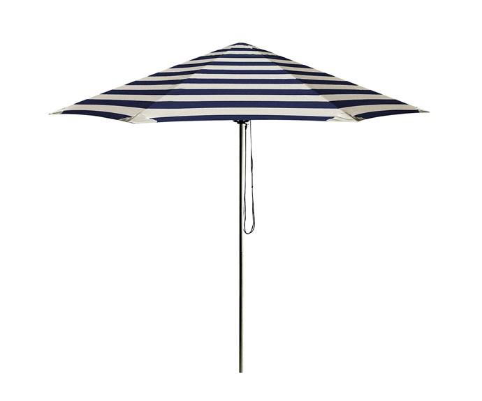 "Go Large ""Serge"" *umbrella*, $1245, [Basil Bangs](http://basilbangs.com/|target=""_blank""|rel=""nofollow"")."