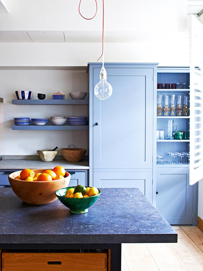 """The kitchen was an investment but is made to last forever; it acts as an anchor for the whole loft,"""" Alex says."""