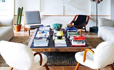 A loft apartment with eclectic charm
