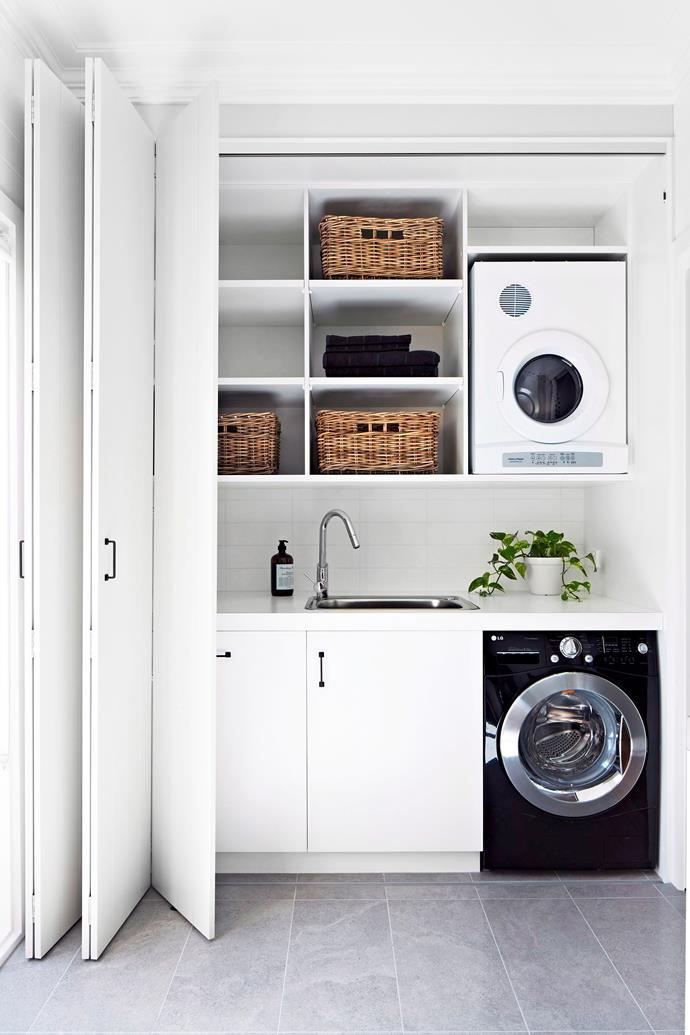 A cost-effective spruce-up for your existing laundry is new tapware – you'll be amazed how  a bit of bling can lift a room. Photo: bauersyndication.com.au